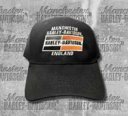 Harley-Davidson® Men's Embroidered Racing Stripe Baseball Cap, Global Products, Inc. BCB41130