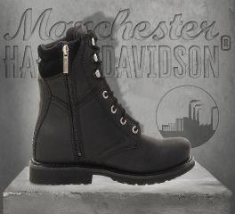 Harley-Davidson® Men's Darnel Leather Boots - Black, Wolverine D94284