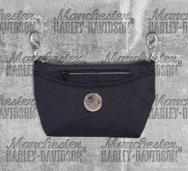 Harley-Davidson® Women's World Tour Convertible Crossbody or Waistpack, Leather Accessory Source WT8380S