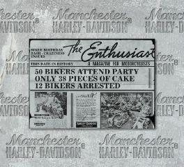 Harley-Davidson® The Enthusiast Birthday Card HDL-20001