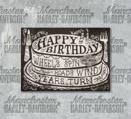 Harley-Davidson® Roll On Birthday Card HDL-20051