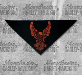 Harley-Davidson® Men's Upwing Eagle 3-in-1 Convertible Bandana, Global Products, Inc. BAC32866