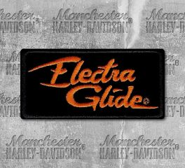 Harley-Davidson® Small Electra Glide Embroidered Patch, Global Products, Inc. EM1054642