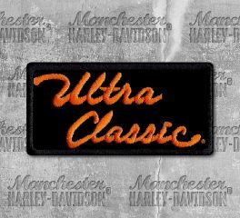 Harley-Davidson® Small Ultra Classic Embroidered Patch, Global Products, Inc. EM1060642