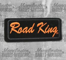 Harley-Davidson® Small Road King Embroidered Emblem Patch, Global Products, Inc. EMB065063