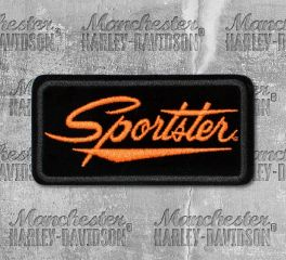 Harley-Davidson® Small Sportster Embroidered Patch, Global Products, Inc. EMB062643