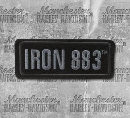 Harley-Davidson® Small Iron 883™ Embroidered Patch, Global Products, Inc. EM187802
