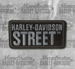 Harley-Davidson® Small H-D® Street Embroidered Patch, Global Products, Inc. EM160802