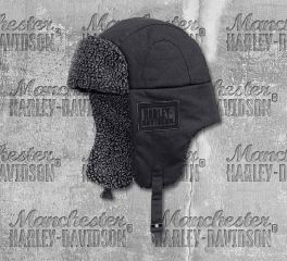 Harley-Davidson® Men's Sherpa Fleece Aviator Cap 97802-18VM