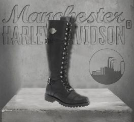 Harley-Davidson® Women's Beechwood Motorcycle Boots, Wolverine D83856