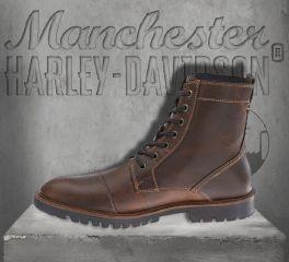 Harley-Davidson® Men's Brown Aldrich Mid-Calf Leather Boots, Wolverine D93354