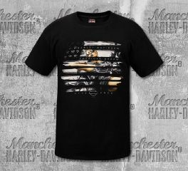 Harley-Davidson® Men's American Dream Short Sleeve Tee, RK Stratman Inc. R002691