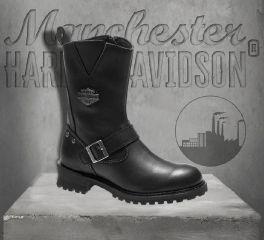 Harley-Davidson® Men's Black Bladen CE Certified Leather Boots, Wolverine D97019