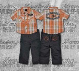 Harley-Davidson® Boy's Shirt and Pant Set, OkisOnent GmbH 1462422