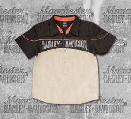 Harley-Davidson® Boy's Workshop Short Sleeve Shirt, OkisOnent GmbH 1091523