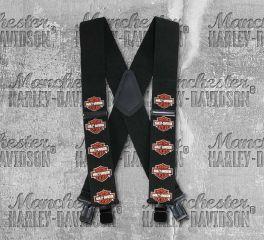 Harley-Davidson® Men's Bar & Shield® Suspenders, Global Products, Inc. SUS302303