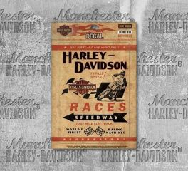 Harley-Davidson® Motorcycle Decal Races, Global Products, Inc. DC116123