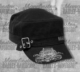 Harley-Davidson® Women's Studded Wild & Free Painter's Cap, Global Products, Inc. PC16730