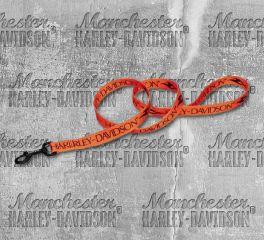 Harley-Davidson® 6 Feet Tribal H-D® Block Dog Leash H0366-ORN06
