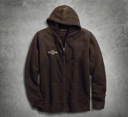 Harley-Davidson® Felt Patch Slim Fit Hoodie 96256-18VM