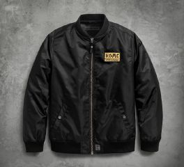 Harley-Davidson® HDMC® Patch Slim Fit Bomber Jacket 97457-18VM
