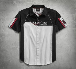 Harley-Davidson® Performance Vented Race Flag Shirt 96180-18VM