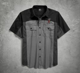 Harley-Davidson® No1 Colorblock Shirt 96187-18VM