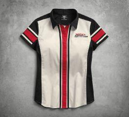 Harley-Davidson® Vertical Stripe Colorblock Shirt 96203-18VW