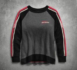 Harley-Davidson® Sleeve Stripe Pullover Sweatshirt 96209-18VW
