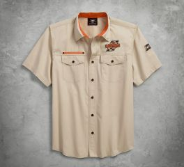 Harley-Davidson® Screamin' Eagle Twill Shirt 96288-18VM