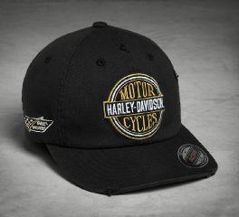 Harley-Davidson® Vintage Patch Stretch Cap 97666-18VM