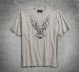 Harley-Davidson® Embroidered Eagle Tee 96199-18VM