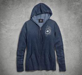 Harley-Davidson® Fine Gauge Sweater Hoodie 96226-18VW