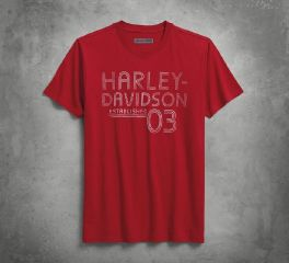 Harley-Davidson® Established 03 Slim Fit Tee 96228-18VM