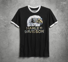 Harley-Davidson® Retro Eagle Slim Fit Tee 96231-18VM