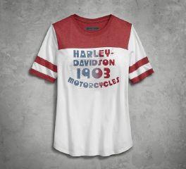 Harley-Davidson® Retro Varsity Tee 96242-18VW