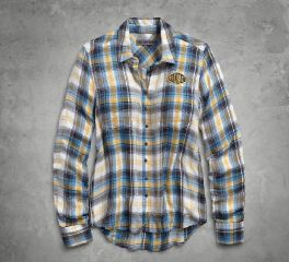 Harley-Davidson® HDMC Plaid Shirt 96248-18VW