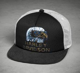 Harley-Davidson® Retro Eagle Trucker Cap 97671-18VM