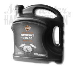 Harley-Davidson® H-D® 360 Motorcycle Oil 20w50 4 Litre 62600042