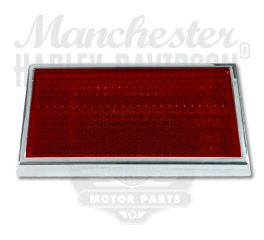 Harley-Davidson® Framed Red Reflector 59255-91