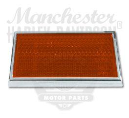 Harley-Davidson® Amber Framed Reflector 59254-91