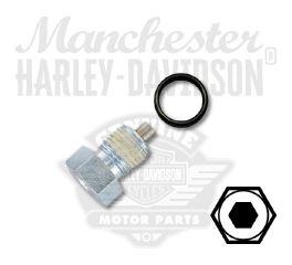 Harley-Davidson® Magnetic Oil Drain Plug Assembly 60328-98B