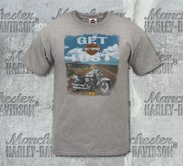 Harley-Davidson® Men's Lost Road Short Sleeve Tee, RK Stratman Inc. R002820