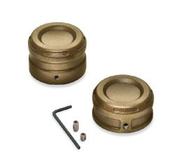 Harley-Davidson® Dominion Rear Axle Nut Covers 43000128