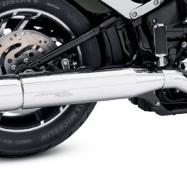 Harley-Davidson® Chrome Muffler Shield 65400466