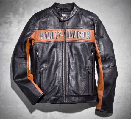 Harley-Davidson® Men's Classic Leather Jacket 98014-10VM