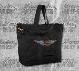 Harley-Davidson® Oversized Crossbody Tote Bag 97825-19VW