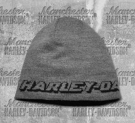 Harley-Davidson® Reversible Eagle Patch Knit Hat 97778-19VM