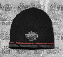Harley-Davidson® Dual Stripe Knit Hat 97777-19VM