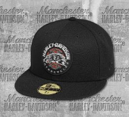 Harley-Davidson® Eagle Patch 59FIFTY®Cap 97776-19VM
